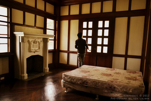 The master's bedroom