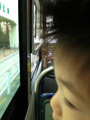 ハチ公バスにて (2012/11/29)
