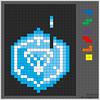 Ingress / Niantic Project logo - tetris style