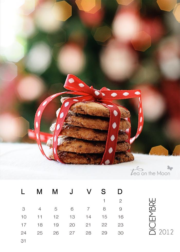 Diciembre calendario