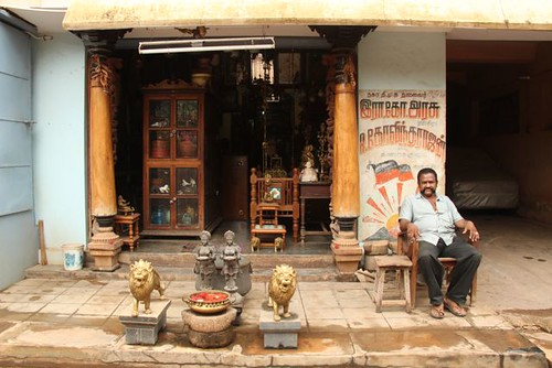 Antiques in Karaikudi by Road Blog