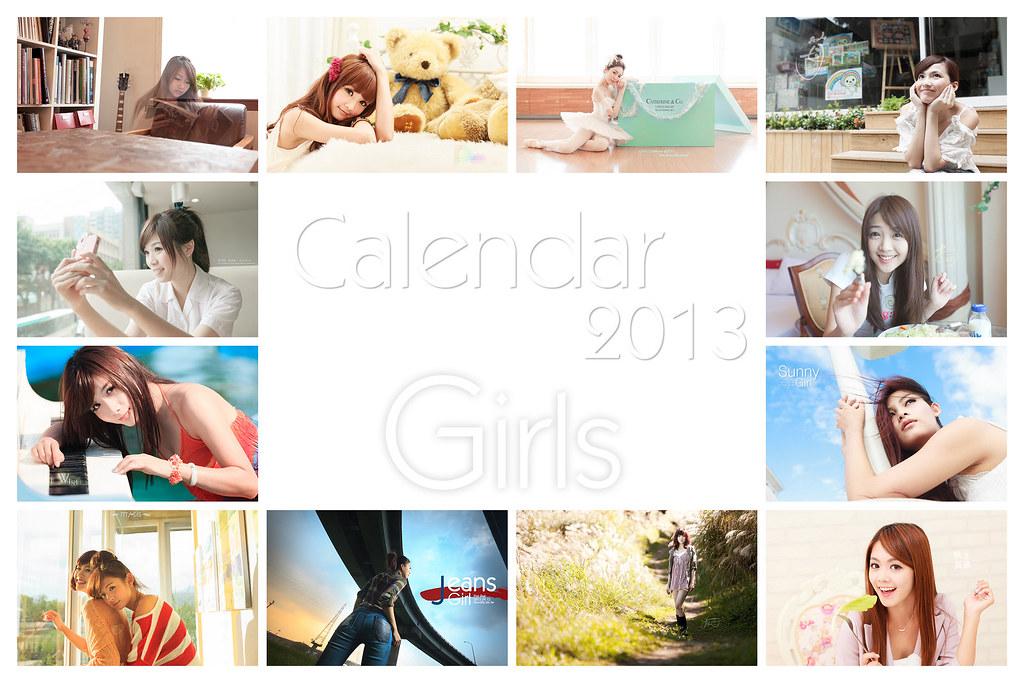 [Calendar 2013]Girls