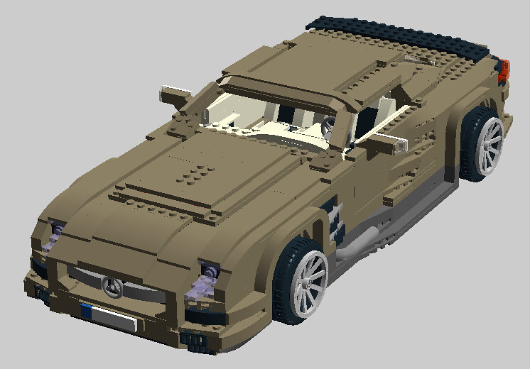 lego mercedes amg instructions