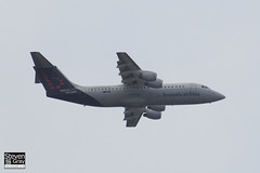 OO-DWH - E3340 - Brussels Airlines - BAE Systems Avro 146-RJ100 - Heathrow - 120721 - Steven Gray - IMG_5750