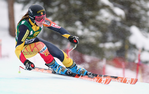 Marie-Michèle Gagnon in the Lake Louise super-G.