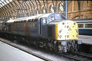 40070 at Kings Cross - on Ektachrome