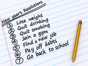 New Years Resolutions from Flickr via Wylio