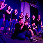 "12-055 -- The a cappella group ""silenceinterupted"" performed a concert."