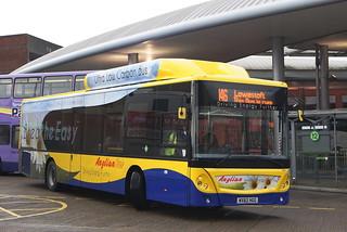 Anglianbus MAN EcoCity 605 WX62HGG (c) David Bell