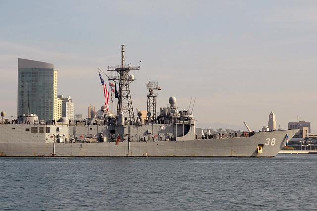 USS Curts (FFG 38)