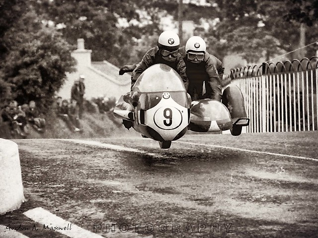 A close call.. 1971 TT races