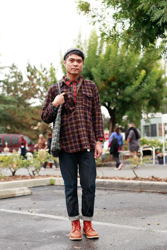 chelito_pcc men, street style, street fashion, PCC Flea Market, Pasadena, Quick Shots