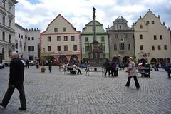A square, Chesky Krumlov