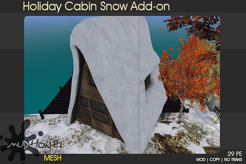 mudhoney holiday cabin snow add on