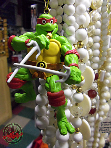 "AMERICAN GREETINGS :: TEENAGE MUTANT NINJA TURTLES - ""RAPHAEL"" Ornament i (( 2012 ))"