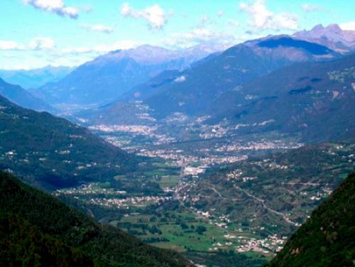 Valtellina - panorama