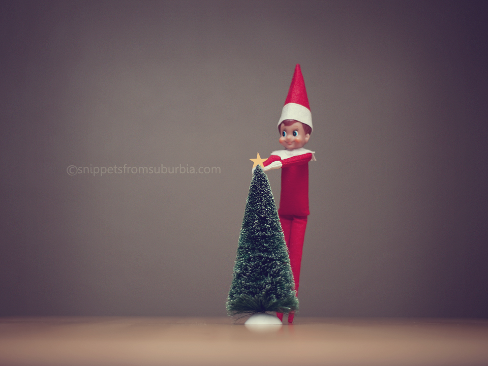 Elf on the Shelf, December 6th