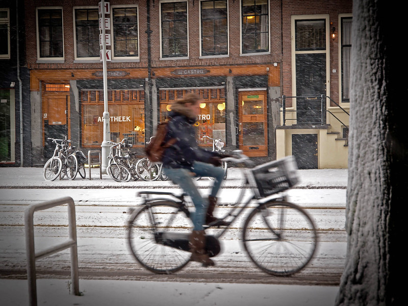 First Snow Amsterdam