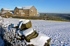 Snow in Queensbury 7 December 2012
