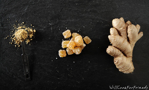 Ginger, 3 ways