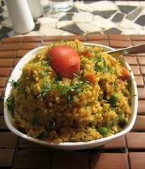 meal, khichdi, thai fried rice, yeung chow fried rice, rice, food, pilaf, dish, fried rice, cuisine, bulgur,