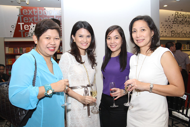 Ayala Malls' Rowena Tomeldan, Daphne Oseña-Paez, AC Ocampo and Myrna Fernandez