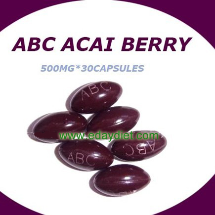 ABC acai berry soft gel anti-fake laser mask