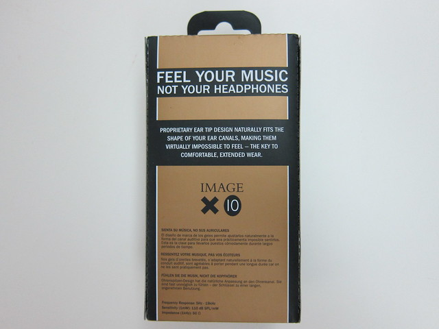 Klipsch Image X10 - Box Back
