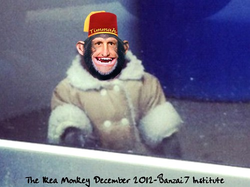 THE IKEA MONKEY by Colonel Flick/WilliamBanzai7