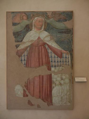 DSCN4717 _ Madonna della Misericordia, c 1399, Pittore bolognese, Palazzo D'Accursio (Palazzo Comunale), Bologna, 18 October
