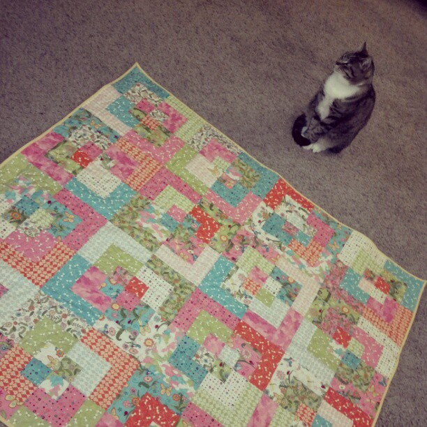 2nd quilt finished today!