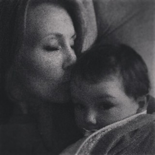Extra snuggles were kind of mandatory today. No ifs, ands, or buts. #ezrajohn #loveforct #mychildmyheart