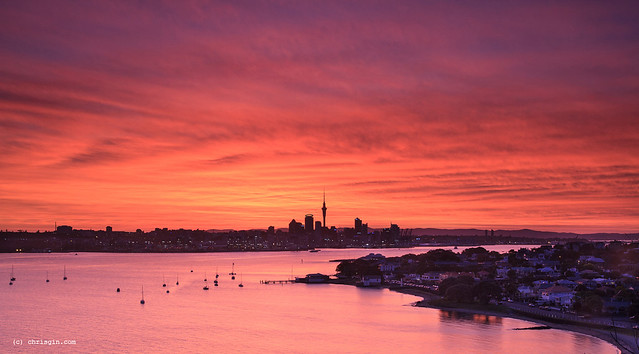 Auckland on Fire