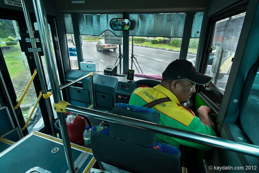 kuching to kubah bus