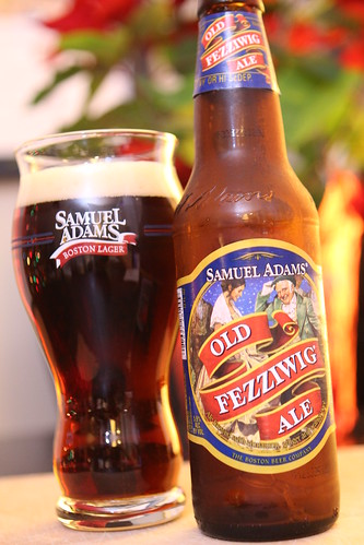 Sam Adams Old Fezziwig Ale