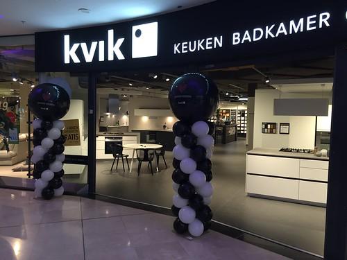 Ballonpilaar Breed Rond Kvik Alexandrium Rotterdam