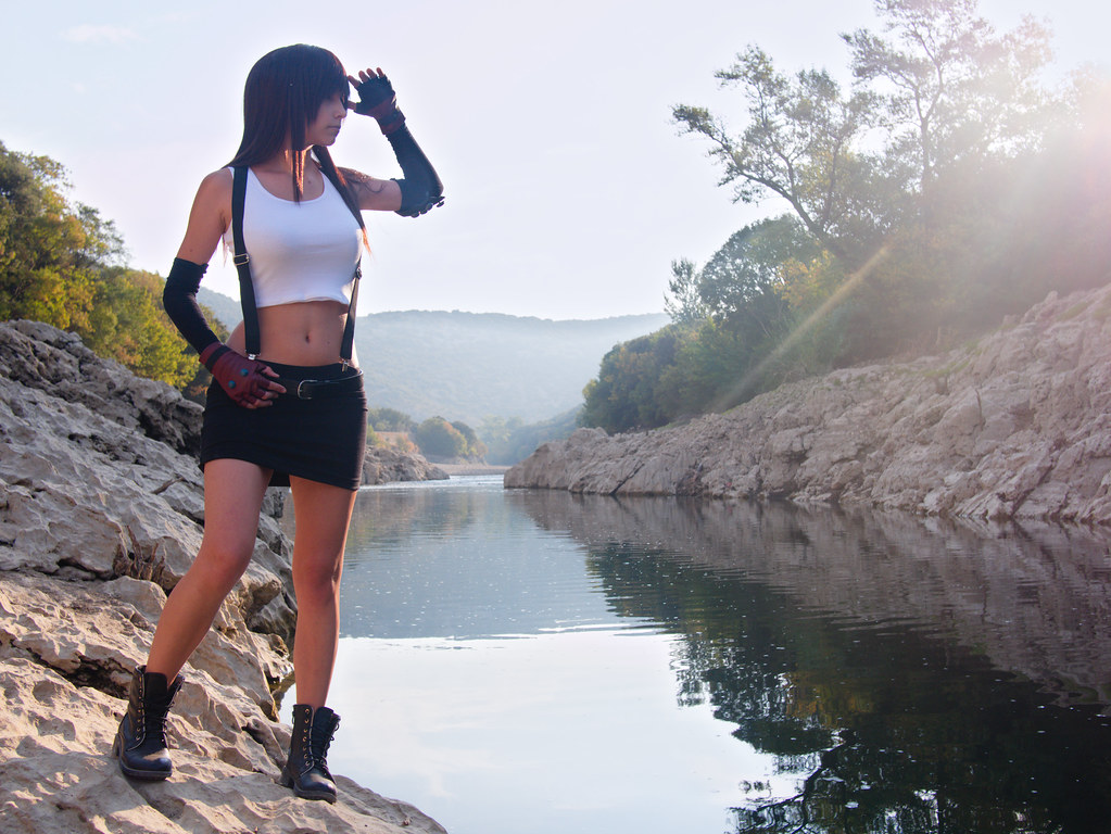 related image - Shooting Tifa Lockhart - Final Fantasy - Gorges de l'Hérault - 2016-08-17- P1520500