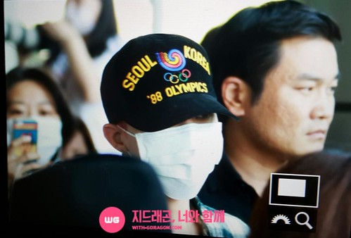 Big Bang - Gimpo Airport - 07jun2015 - G-Dragon - With G-Dragon - 01