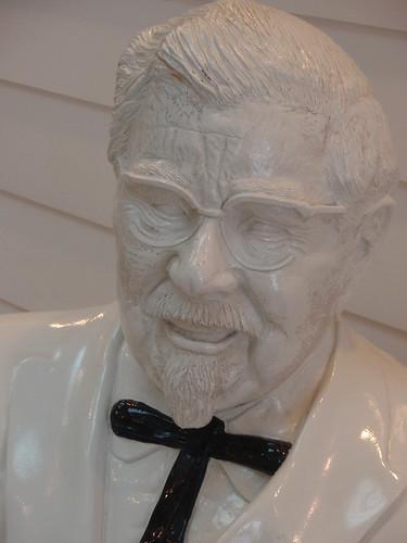 harland sanders statue
