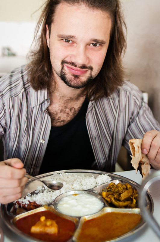 Anton likes indian meal