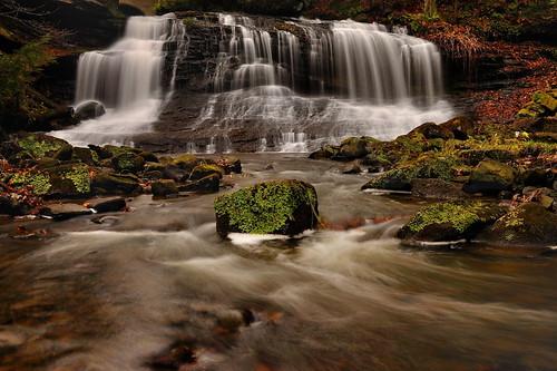 longexposure nature waterfall nikon pennsylvania circularpolarizer ndfilter springfieldfalls nikond90