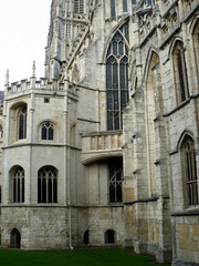 abbey, building, cathedral, monastery, architecture, facade, medieval architecture,