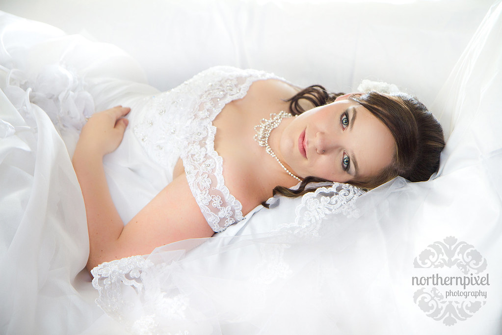 Bridal Fashion Session - Prince George BC Canada