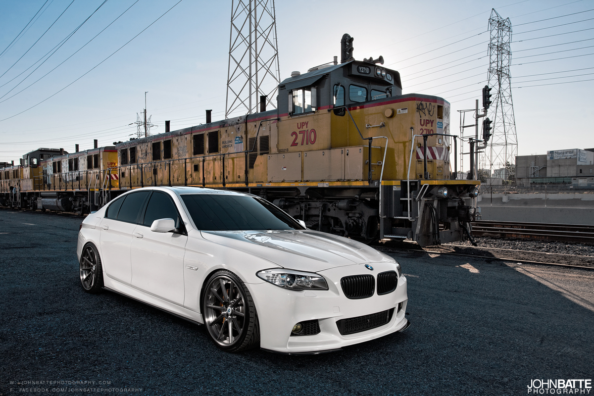 Bmw F10 On Morr Multiforged Ms10 2 Wheels