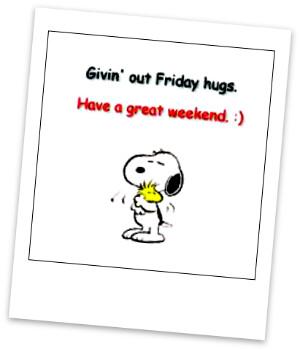 TGIF hugs