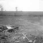 Australian 18-Pounder Firing at Bullecourt, May 1917