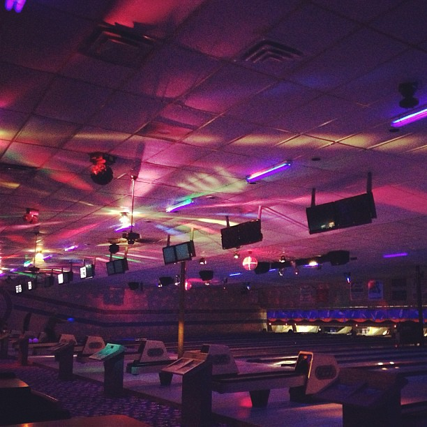Cosmic bowling is the best!