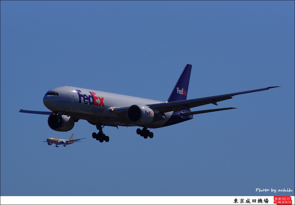 FedEx Express / N862FD / Tokyo - Narita International