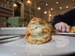 Tori's Bake Shop - Sweet potato rosemary scone