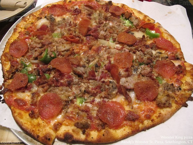 Wooster Street King pizza